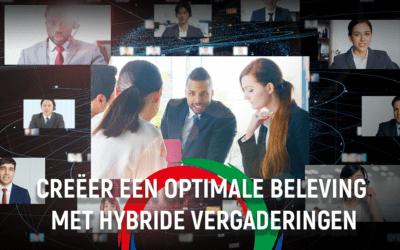 Creëer een optimale beleving met hybride vergaderingen.