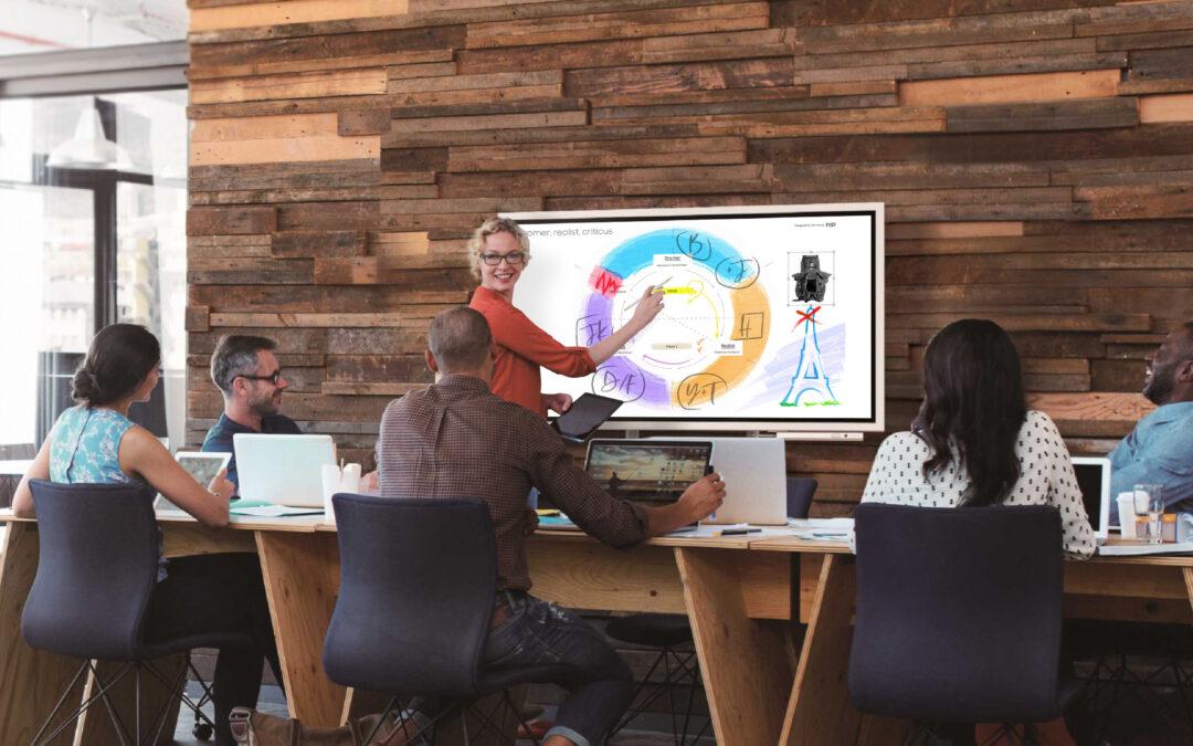 Brainstormen met de Samsung Flip